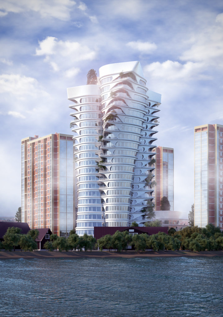 Архитектурная концепция небоскреба