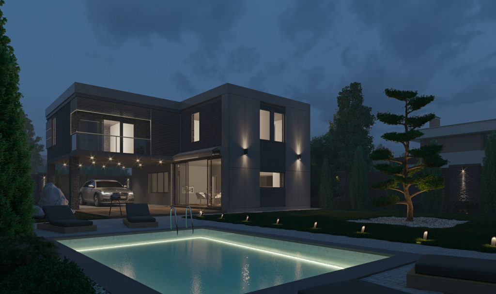 Minimal villa