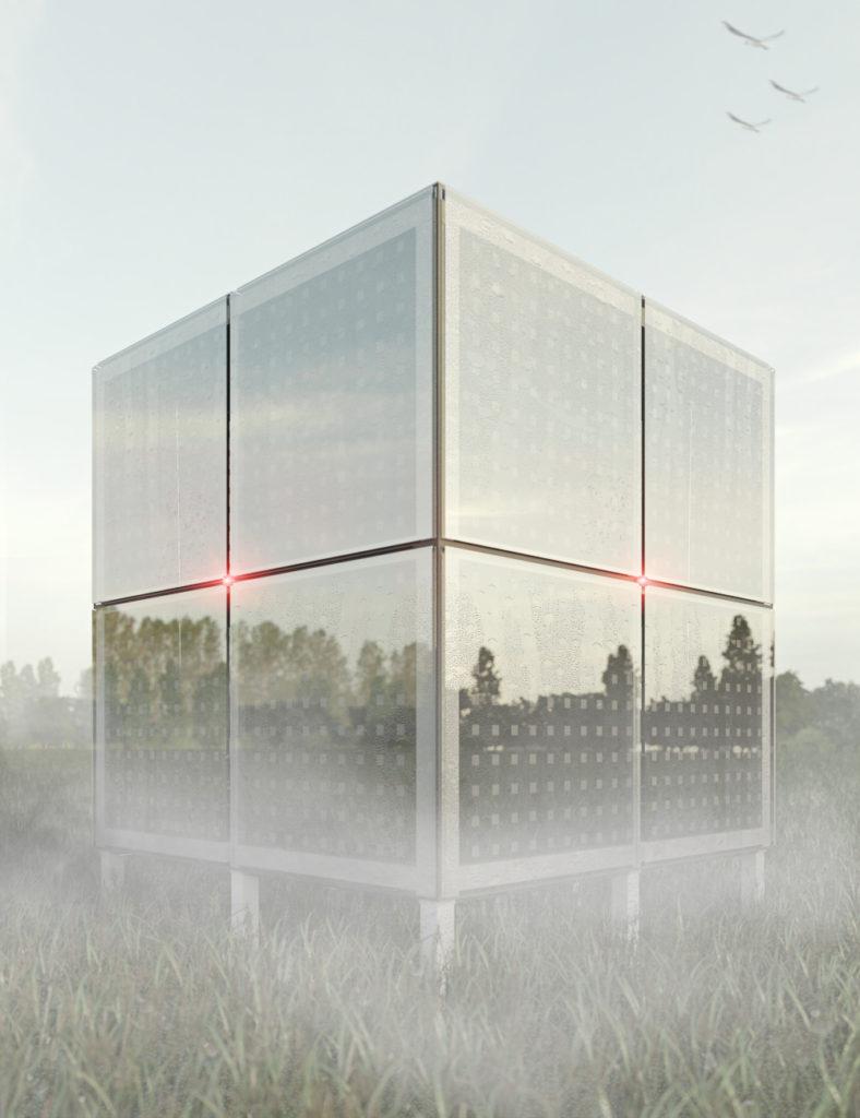Концепт-арт 3D куб